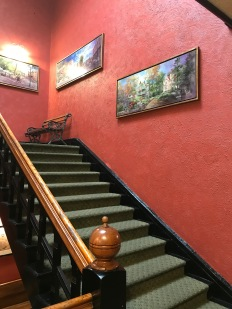 Crescet Hotel, Eureka Springs, AR, stairs design