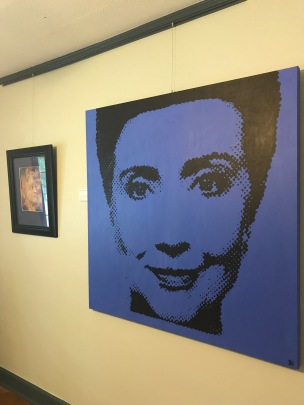 Hillary Clinton in Pop Art Style