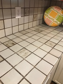 Kitchen tiles detail