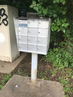 Mail_boxes_spotted_in_Fayetteville, AR, US
