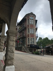 View from Basin Park Hotel, Eureka Springs, AR, US
