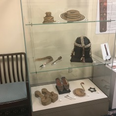 African Items in the Exhibition on the 5th Floor of Old Main