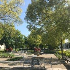 Clinton Presidential Garden-Relaxation Area