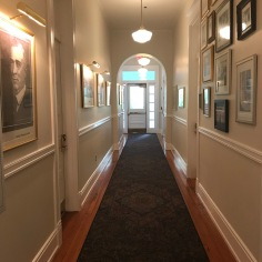 Corridor in Carnall Hall