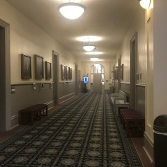 Corridor in the Old Main