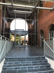 Entrance, Pryor center