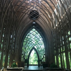 Inside view, Mildred B. Cooper Mmeorial Chapel, Bella Vista, NW Arkansas