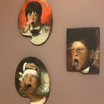 Joseph Decker, Boy Eating Berries; Boy Smoking; Boy at the dentist (sometime at the end of the 19th century)
