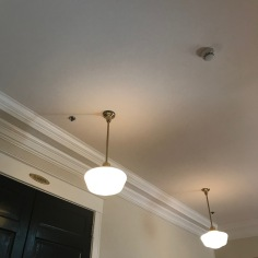 Lamps, groudfloor, Carnall Hall