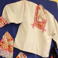 Male peasant blouse