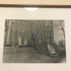 Old picture of Old Main