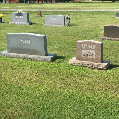 Slovak Catholic Cemetery, Stone graves 13