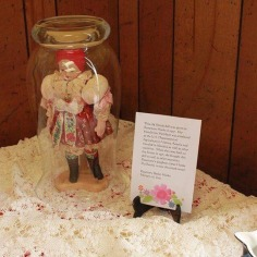 Slovak doll given as a gift in 1957 to a member of the community by her friend who was working at the US Department of Agriculture in Vienna, Austria