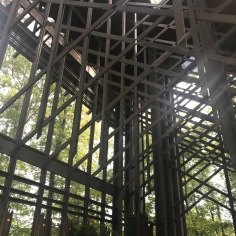 Structure, detail, Thorncrown chapel