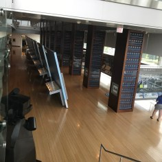 View of the Main Gallery, on 2nd floor; Clinton Center, Little Rock