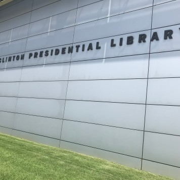 W.J.Clinton Presidential Library, Little Rock, Front View