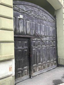 Gate in Cristian (Neustadt), Brasov county