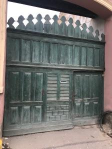 Gate in Cristian village, Brasov county