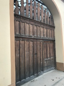Gate in Cristian village