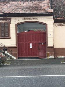 Gate in Rasnov, old centre
