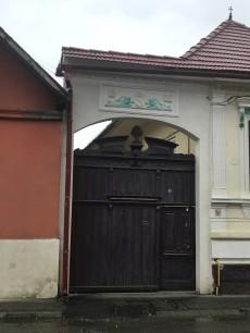 Gate on I.L.Caragiale St. Rasnov