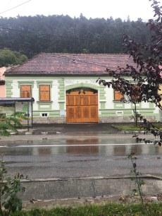 Gate on I.L.Caragiale Street, Rasnov, Brasov county