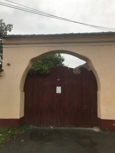 Gate on Ion Creanga Street, Rasnov