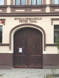 Gate on Izvorului Street, Rasnov