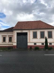 Gate on renovated house, Rasnov centre