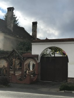 Iron gate on Florilor Street, Rasnov
