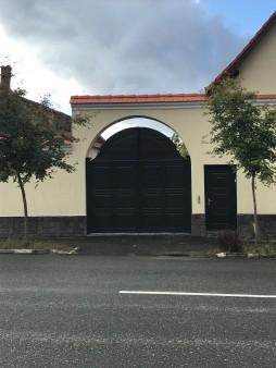 New gate in Rasnov, on Florilor Street