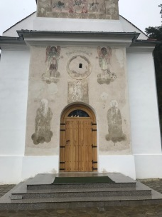 Saint Nicholas Church, Rasnov, entrance