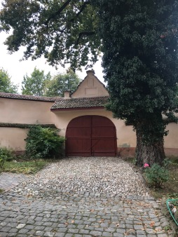 Secondary Gate to the Evangelical Church, Cristian, Brasov county