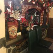 Christmas Decorations in the Casa Românească Restaurant
