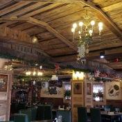 Decorations in Casa Românească Restaurant, Șcheii Brașovului