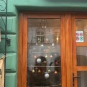 Minimalist Tree in coffee shop on Apollonia Hirscher Street in Brașov