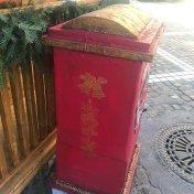 Santa`s Postal Box, side view