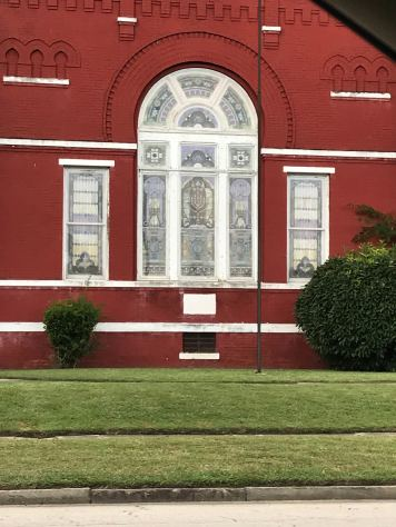Detail Historic House, Pine Bluff