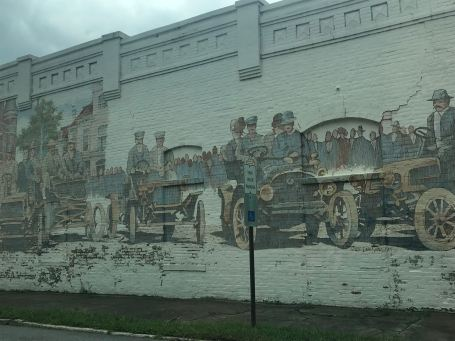 People of Pine Bluff in its Golden Years, Wall in Downtown
