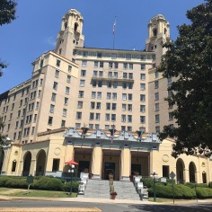 Arlington Hotel, Front View, Hot Springs, Arkansas, USA