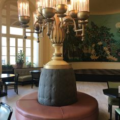 Arlington Hotel, Hot Springs, Arkansas, detail in the cafe