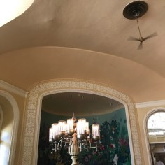 Detail inside the Arlington Hotel cafe, Hot Springs, Arkansas