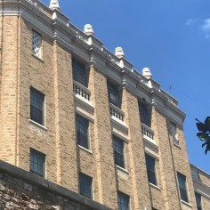 Detail, the Old Army-Navy Hospital, Hot Springs, Arkansas