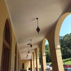 Hotel Arlington, Hot Springs, Arkansas, porch view