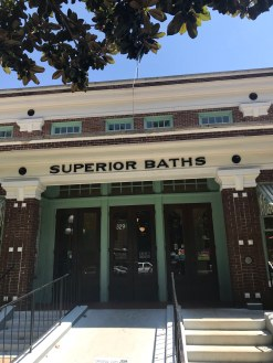 Superior Baths, entrance, Hot Springs, Arkansas